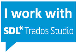 SDL Trados Studio badge